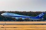 norimotoさんが、熊本空港で撮影した全日空 747-481(D)の航空フォト(写真)