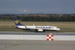 しかばねさんが、フェレンツリスト国際空港で撮影したライアンエア 737-8ASの航空フォト(写真)