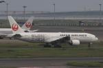多楽さんが、羽田空港で撮影した日本航空 777-289の航空フォト(写真)