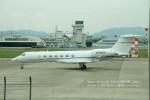 かみきりむしさんが、名古屋飛行場で撮影したWELLS FARGO BANK NORTHWEST NA TRUSTEE  G-V-SP Gulfstream G550の航空フォト(写真)