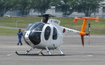 asuto_fさんが、鹿屋航空基地で撮影した海上自衛隊 OH-6DAの航空フォト(写真)