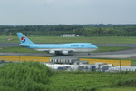 CLIP@h.s.さんが、成田国際空港で撮影した大韓航空 747-4B5の航空フォト(写真)