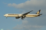 妄想竹さんが、羽田空港で撮影したシンガポール航空 777-312/ERの航空フォト(写真)