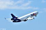 吉田高士さんが、成田国際空港で撮影したフェデックス・エクスプレス MD-11Fの航空フォト(写真)