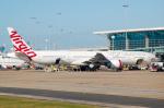 rYo1007さんが、ブリスベン空港で撮影したヴァージン・オーストラリア 777-3ZG/ERの航空フォト(写真)