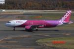 ぽんさんが、新千歳空港で撮影したピーチ A320-214の航空フォト(写真)