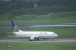 CLIP@h.s.さんが、成田国際空港で撮影したコンチネンタル航空 737-824の航空フォト(写真)