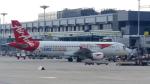 誘喜さんが、シンガポール・チャンギ国際空港で撮影したタイ・エアアジア A320-216の航空フォト(写真)