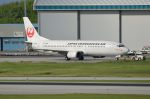 Cスマイルさんが、那覇空港で撮影した日本トランスオーシャン航空 737-4Q3の航空フォト(写真)