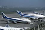 Gambardierさんが、羽田空港で撮影した全日空 747SR-81の航空フォト(写真)