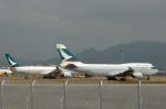 ktaroさんが、香港国際空港で撮影したキャセイパシフィック航空 747-467の航空フォト(写真)