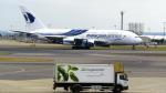 誘喜さんが、ロンドン・ヒースロー空港で撮影したマレーシア航空 A380-841の航空フォト(写真)