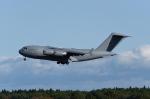 じゃまちゃんさんが、三沢飛行場で撮影したイギリス空軍 C-17A Globemaster IIIの航空フォト(写真)