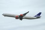 coconaruさんが、成田国際空港で撮影したスカンジナビア航空 A340-313Xの航空フォト(写真)