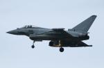 なごやんさんが、三沢飛行場で撮影したイギリス空軍 EF-2000 Typhoon FGR4の航空フォト(写真)