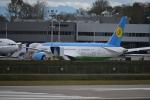 romyさんが、ペインフィールド空港で撮影したウズベキスタン航空 787-8 Dreamlinerの航空フォト(写真)