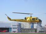 kamonhasiさんが、東京ヘリポートで撮影したアカギヘリコプター 204B-2(FujiBell)の航空フォト(写真)