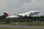 Zero Fuel Weightさんが、成田国際空港で撮影した日本航空 747-446(BCF)の航空フォト(写真)