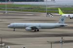 たまさんが、羽田空港で撮影したベルギー空軍 A321-231の航空フォト(写真)