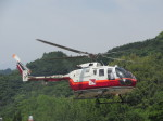 kamonhasiさんが、静岡ヘリポートで撮影した読売新聞 Bo 105Sの航空フォト(写真)