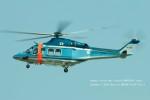 かみきりむしさんが、名古屋飛行場で撮影した新潟県警察 AW139の航空フォト(写真)