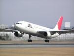 亮ちゃんさんが、伊丹空港で撮影した日本航空 A300B4-622Rの航空フォト(写真)