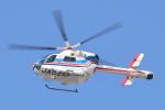 白銀7さんが、平和大通りで撮影した朝日新聞社 MD 900/902の航空フォト(写真)