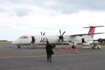 職業旅人さんが、屋久島空港で撮影した日本エアコミューター DHC-8-402Q Dash 8の航空フォト(写真)