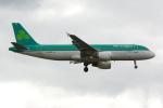 PASSENGERさんが、ロンドン・ヒースロー空港で撮影したエア・リンガス A320-214の航空フォト(写真)