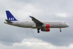 PASSENGERさんが、ロンドン・ヒースロー空港で撮影したスカンジナビア航空 A320-232の航空フォト(写真)