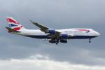 PASSENGERさんが、ロンドン・ヒースロー空港で撮影したブリティッシュ・エアウェイズ 747-436の航空フォト(写真)