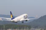 ゆういちさんが、鹿児島空港で撮影したスカイマーク 737-8HXの航空フォト(写真)