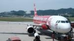 westtowerさんが、ペナン国際空港で撮影したエアアジア A320-216の航空フォト(写真)