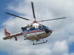 kamonhasiさんが、静岡ヘリポートで撮影した朝日新聞社 MD 900/902の航空フォト(写真)