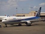 ken1☆MYJさんが、ホノルル国際空港で撮影した全日空 767-381/ERの航空フォト(写真)
