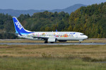 Gambardierさんが、岡山空港で撮影した全日空 737-881の航空フォト(写真)