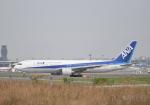 雲霧さんが、成田国際空港で撮影した全日空 767-381/ERの航空フォト(写真)