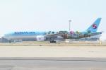 Wings Flapさんが、関西国際空港で撮影した大韓航空 777-3B5/ERの航空フォト(写真)