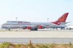Wings Flapさんが、関西国際空港で撮影したエア・インディア 747-437の航空フォト(写真)