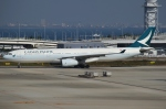 Wings Flapさんが、関西国際空港で撮影したキャセイパシフィック航空 A330-343Xの航空フォト(写真)