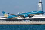 pinamaさんが、関西国際空港で撮影したベトナム航空 A350-941XWBの航空フォト(写真)