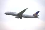 keikei123さんが、関西国際空港で撮影したユナイテッド航空 787-8 Dreamlinerの航空フォト(写真)