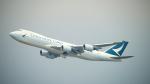 keikei123さんが、香港国際空港で撮影したキャセイパシフィック航空 747-867F/SCDの航空フォト(写真)