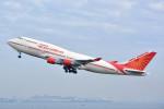 トロピカルさんが、羽田空港で撮影したエア・インディア 747-437の航空フォト(写真)