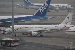肉食獣さんが、羽田空港で撮影したマレーシア空軍 A320-214X CJ Prestigeの航空フォト(写真)