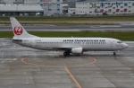 sky77さんが、福岡空港で撮影した日本トランスオーシャン航空 737-4Q3の航空フォト(写真)