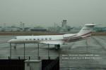 かみきりむしさんが、名古屋飛行場で撮影したTAI LEASING INC (LONG BEACH CA) C-37B Gulfstream G550 (G-V-SP)の航空フォト(写真)