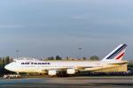 菊池 正人さんが、パリ シャルル・ド・ゴール国際空港で撮影したエールフランス航空 747-228BMの航空フォト(写真)