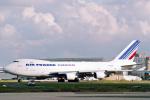 菊池 正人さんが、パリ シャルル・ド・ゴール国際空港で撮影したエールフランス航空 747-428F/ER/SCDの航空フォト(写真)