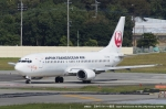 tabi0329さんが、福岡空港で撮影した日本トランスオーシャン航空 737-4Q3の航空フォト(写真)